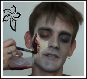 halloween sangriento