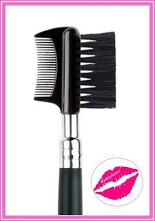 brocha de maquillaje de cepillo para cejas