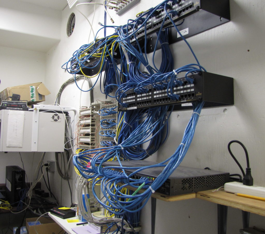 hight resolution of structured wiring satellite