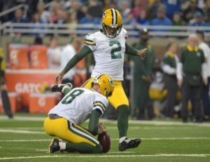 The deal includes a $5. Packers will Take Their Chances with Mason Crosby | Total ...