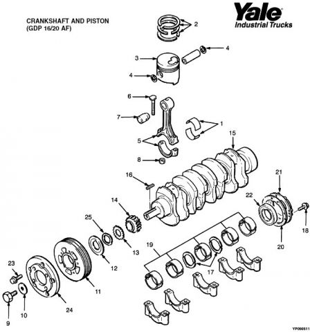 TotalParts.ru Yale gdp/glp16-20af spare parts catalog