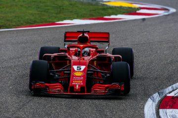 Sebastian Vettel took the pole at Chinese GP 2018