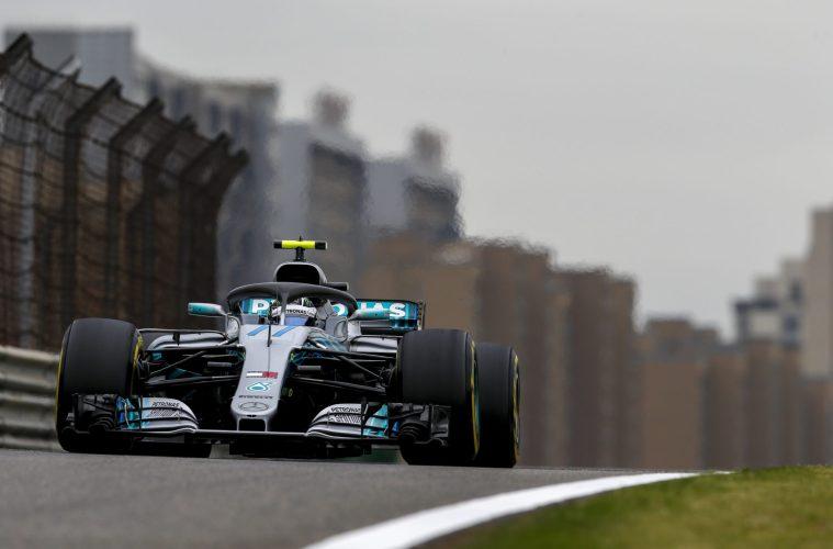Valtteri Bottas Chinese GP 2018