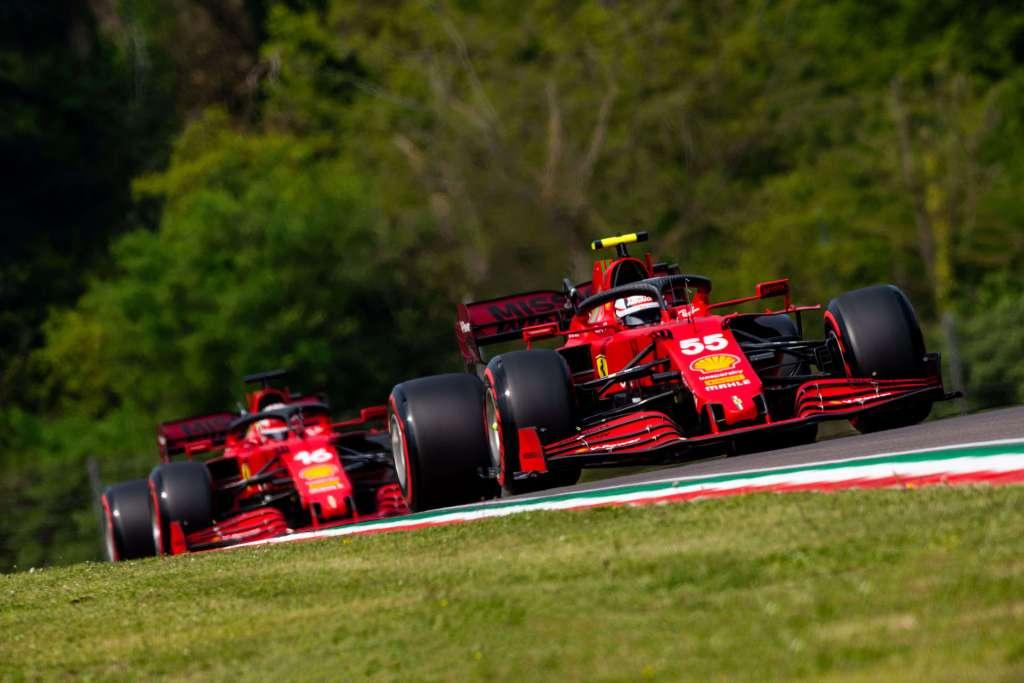 Scuderia Ferrari Charles Leclerc Carlos Sainz 2021