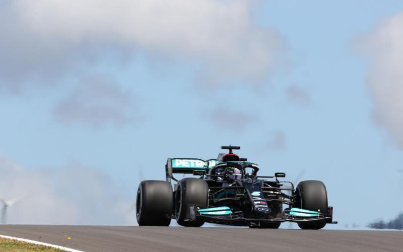 Lewis Hamilton Mercedes F1 Portuguese GP 2021 Free Practise