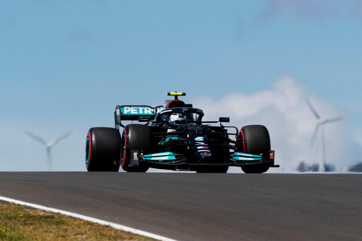 Valtteri Bottas F1 Mercedes Portugal 2021 Race