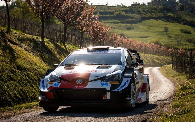 Sebastien Ogier Crash before ss17 rally croatia 2021