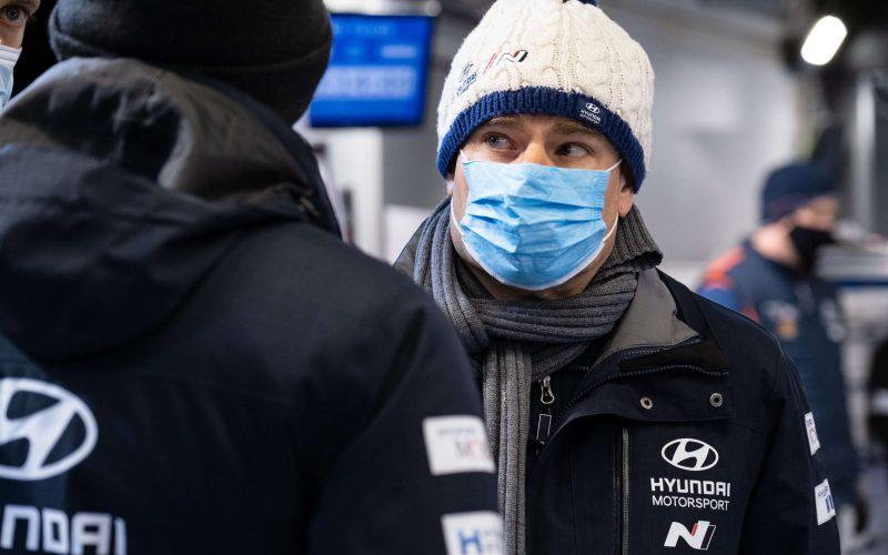 Andrea Adamo Hyundai WRC Team Principal 2021
