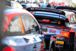 Hyundai i20 Coupe WRC Cars 2021 Rally Portugal