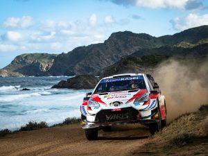 Sebastien Ogier Rally Italia Sardegna 2020/Toyota Yaris WRC