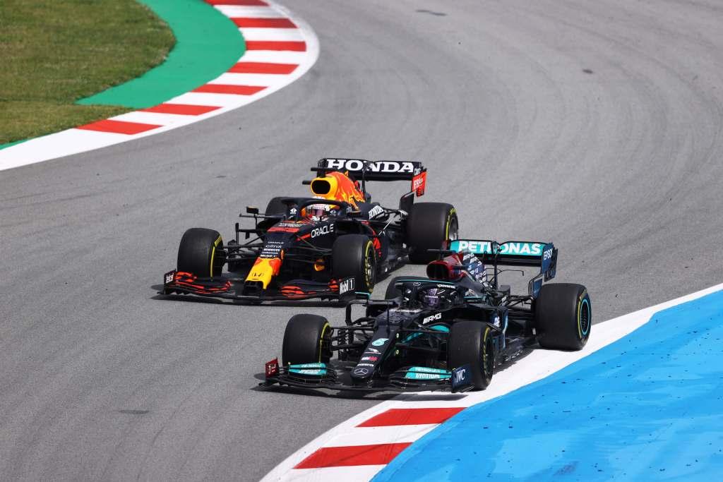 Max Verstapen Red Bull F1 Spanish GP 2021 Race