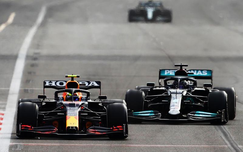 Sergio Perez Red Bull F1 Grand Prin Azerbaijan 2021 Winner
