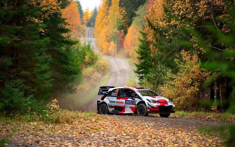Rally Φινλανδίας - 2η Μέρα: Επέλαση Evans