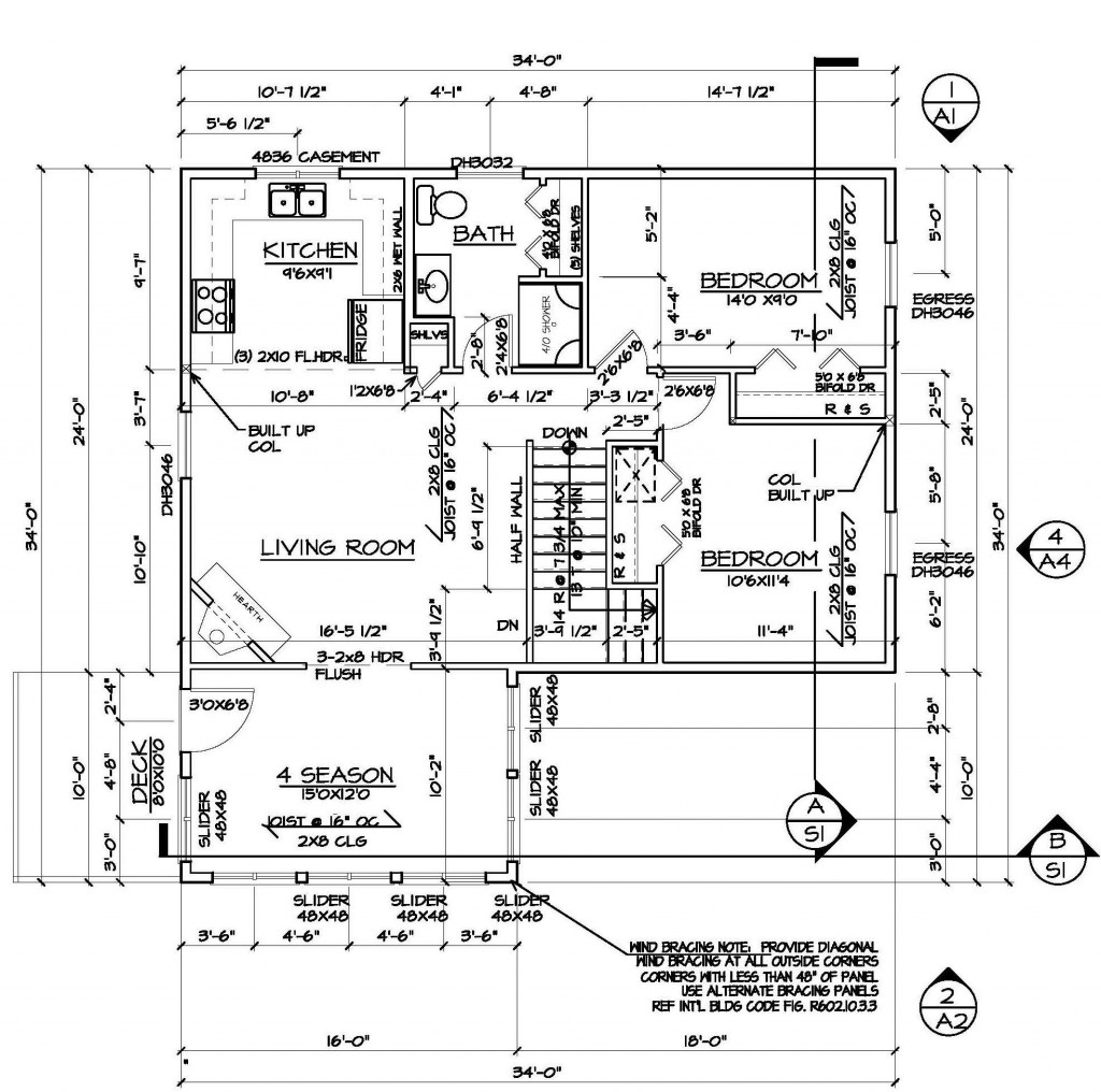 Fire Alarm A Built Drawing
