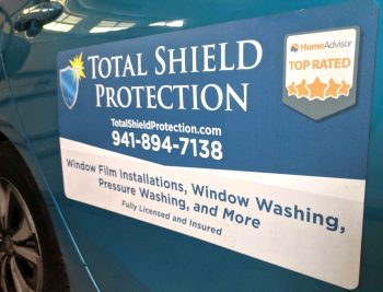 Total Shield Vehicle Magnet