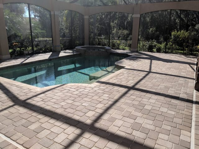 Sealed Pool Bricks