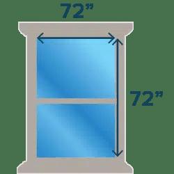 Large Windows (72 x 72)