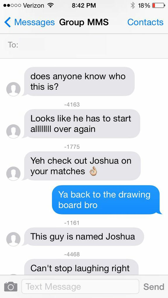 Total Sorority Move This Guy Accidentally Group Texted