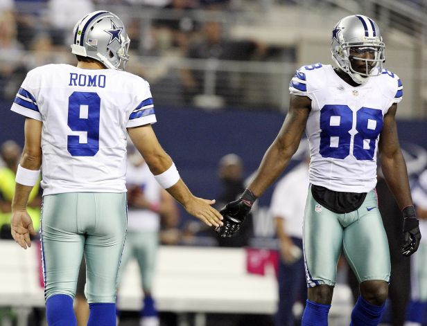 Tony Romo and Dez Bryant have hooked up 46 times for 808 yards and 10 TD's over their last 7 games.  They will face RGIII and the Washington Redskins Sunday night for the NFC East title.