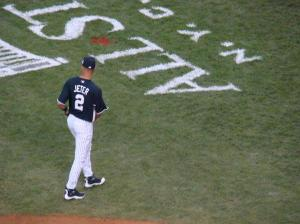 The only time a Yankee has his name on the back of the jersey is at the All-Star game