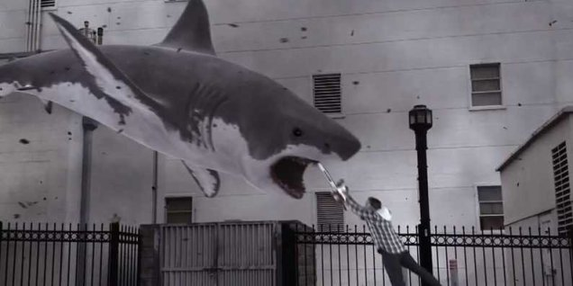 Sharknado chainsaw