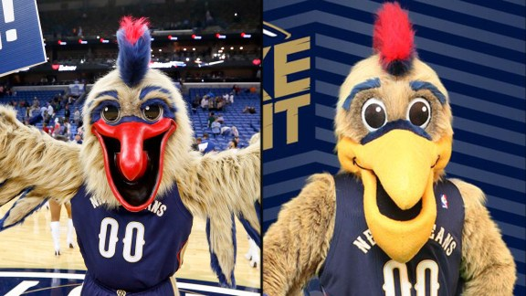 Pierre the Pelican before and after