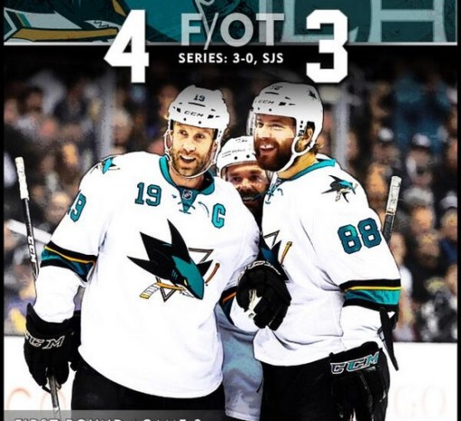 Photo Courtesy Of @SanJoseSharks