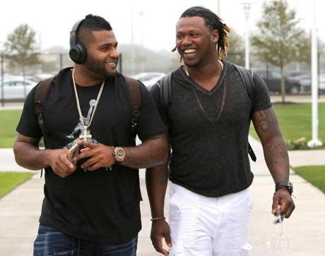 Panda and Hand-Ram could be the 1-2 punch the Rex Sox needed to get back to the World Series/ (photo courtesy of bostonglobe.com)