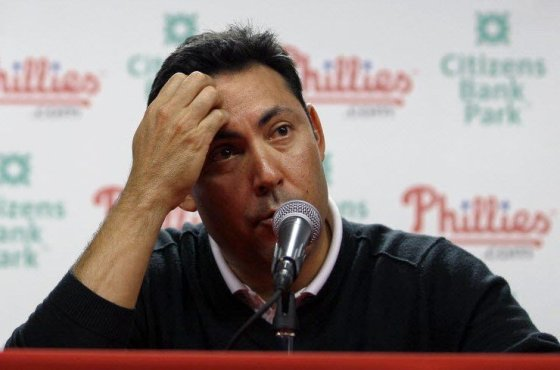 Phillies GM Ruben Amaro Jr has run this organization into the ground with horrific trades and contracts.