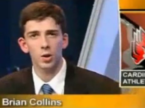 "Brian ""boom goes the dynamite"" Collins is pretty much standard American Sports Broadcasting fodder nowadays"