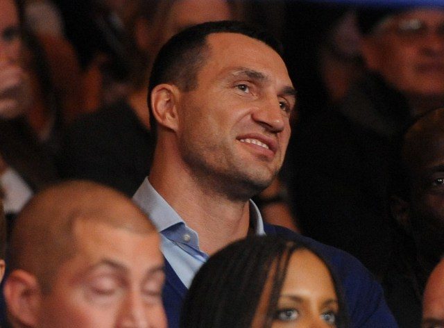 Wladimir Klitschko. Mandatory Credit: Joe Camporeale-USA TODAY Sports