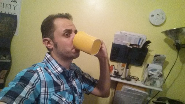 Sipping my tea while society crumbles..