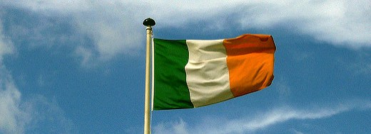 Generic photo of Ireland flag