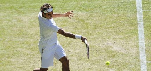 Swiss tennis player Roger Federer