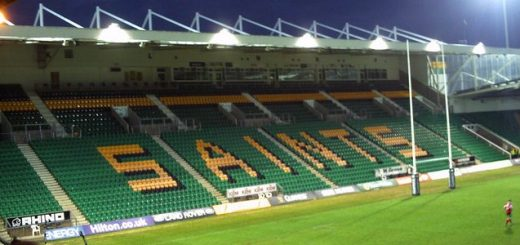 Franklin's Gardens, home of Premiership rugby union side Northampton Saints