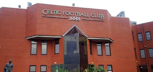 An exterior view of Celtic Park