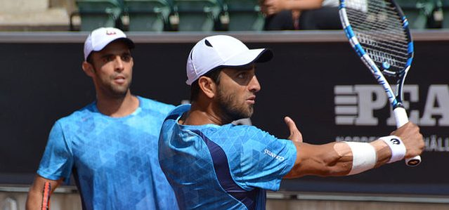 Colombian doubles tennis team Juan-Sebastian Cabal and Robert Farah