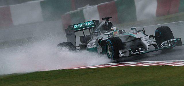 British Mercedes Formula 1 driver Lewis Hamilton