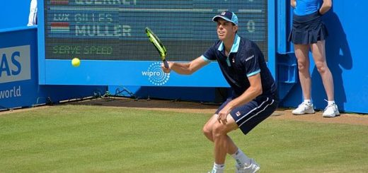 American tennis player Sam Querrey