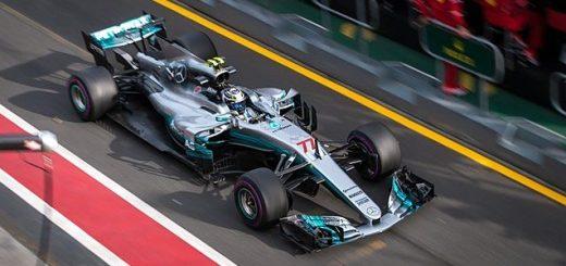 Mercedes Formula One driver Valtteri Bottas