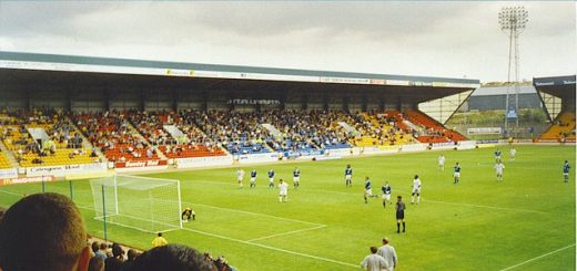 McDiarmid Park, home of Scottish Premiership side St Johnstone
