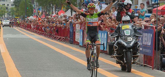 Belgian cyclist Wout van Aert