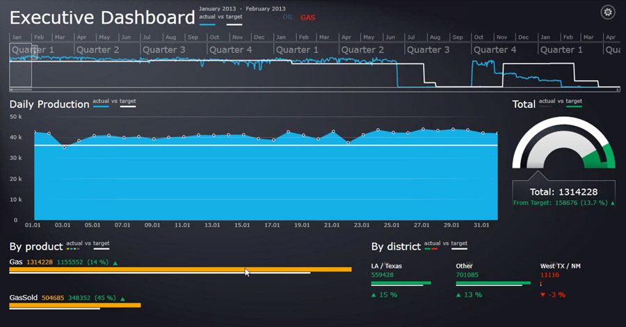 Total Asset Manager Executive Dashboard