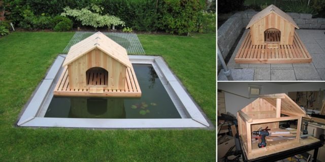 How To Build A Floating Duck House Total Survival