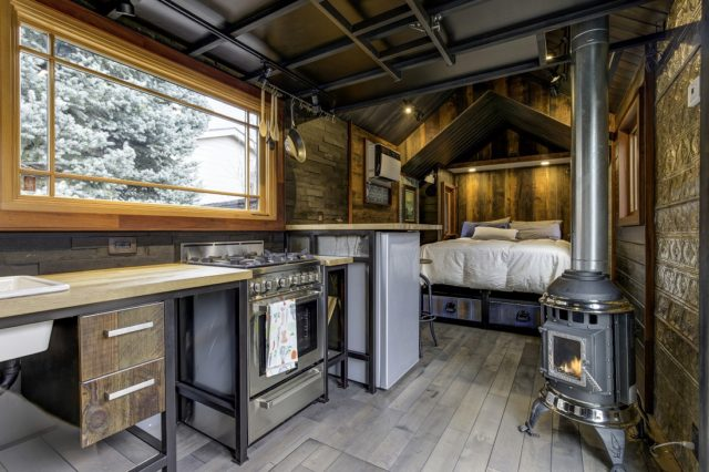 Luxurious Single Level Tiny House  Total Survival