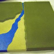 2CL6 - Stream estuary into sea / Corner coastline