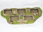 R00MT400 - Skirmish Tray (5 x 25mm)(block)