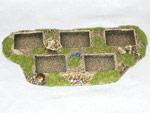 R00MT400 - Skirmish Tray (5 x 25mm)(block)