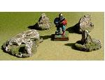 R00RF010 - Rock Formations (small x 4)