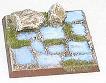 R00FB411 - 40mm square base (rocks and old flagstones)